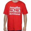 Junglist Movement - Red T-Shirt (Size M)
